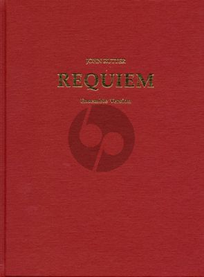 Rutter Requiem Soprano soloist-SATB-Orchestra/Ensemble (with Organ) Full Score