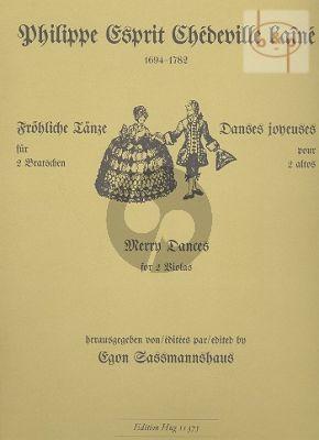Frohliche Tanze (Merry Dances)
