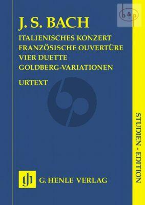 Italienisches Konzert-Franz.Ouveture- 4 Duette- Goldberg Variationen (Steglich-Theopold)