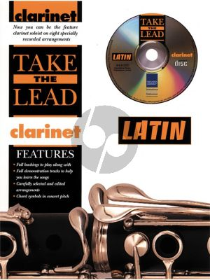 Take the Lead Latin Clarinet (Bk-Cd)