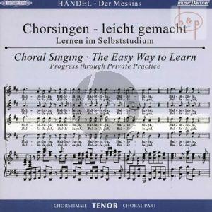 Messias HWV 56 (CD Tenor Chorstimme) (2 CD's) (Chorsingen leicht gemacht)