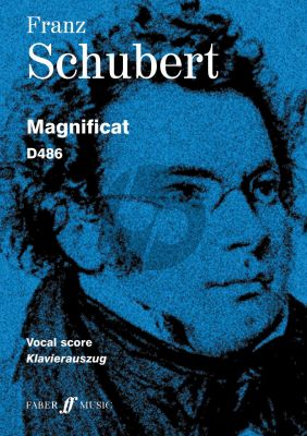 Schubert Magnificat D 486 Soli-SATB-Orchestra (Voca lScore) (edited by Brian Newbould)
