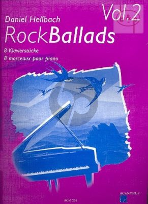 Rock Ballads Vol.2 Piano