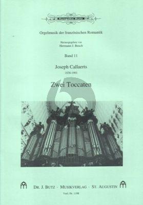 Callaerts 2 Toccaten Orgel (Hermann J. Busch)