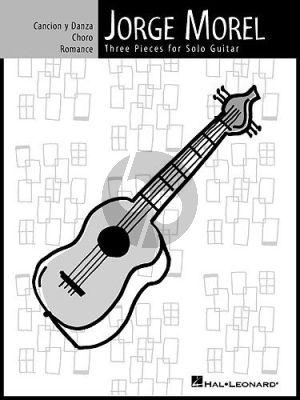 Morel 3 Pieces for Guitar