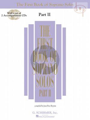 First Book of Soprano Solos vol.2 (Voice-Piano)