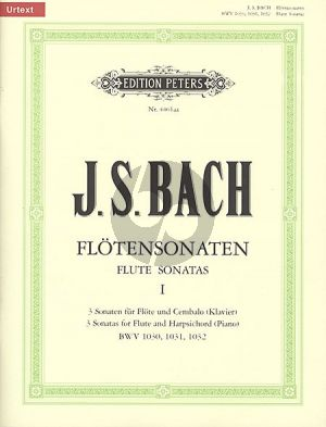 Bach J.S. Sonaten Vol.1 (No.1-3) (Urtext) (Hampe/Eberth)