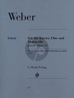 Weber Trio g-moll Op.63 (Henle-Urtext)