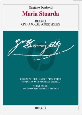 Donizetti Maria Stuarda Vocal Score (ital./engl.) (critical edition)