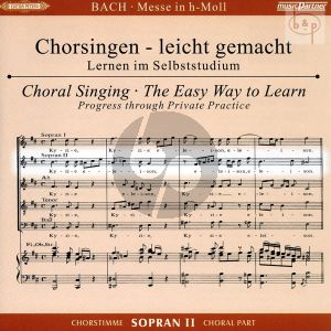Messe h-moll (Hohe Messe) BWV 232 Sopran 2 Chorstimme