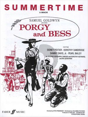 Gershwin Summertime (Porgy & Bess) Voice-Piano (A-minor)