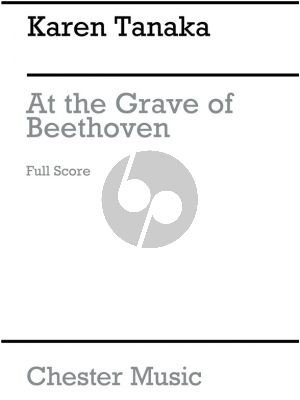 Tanaka At the Grave of Beethoven (String Quartet) (Score)