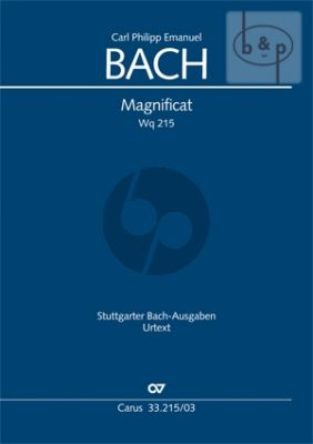 Bach Magnificat WQ 215 Soli-Choir-Orchestra (Vocal Score) (Carus)