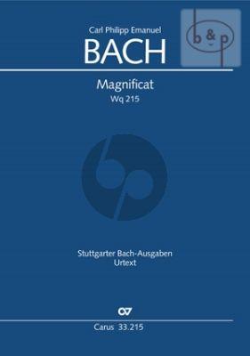 Bach Magnificat WQ 215 Soli-Choir-Orchestra Full Score (Carus)