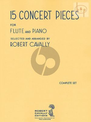 15 Concert Pieces for Flute and Piano