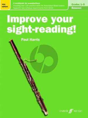 Harris Improve your Sight-Reading Bassoon Grades 1-5