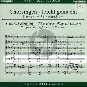 Messe h-moll (Hohe Messe) BWV 232 Bass Chorstimme