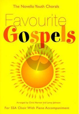 Favourite Gospels SSA-piano