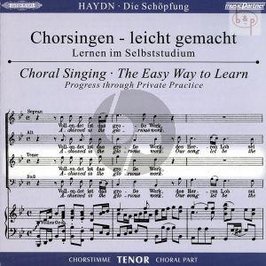 Die Schopfung (Hob.XXI:2) CD Tenor Chorstimme