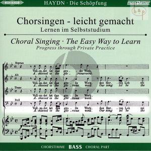 Die Schopfung (Hob.XXI:2) CD Bass Chorstimme