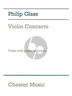 Glass Concerto (1987) Violin-Orchestra (piano red. by Charles Abramovich)