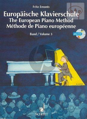 Europaische Klavierschule Vol.3 Bk-Audio Online