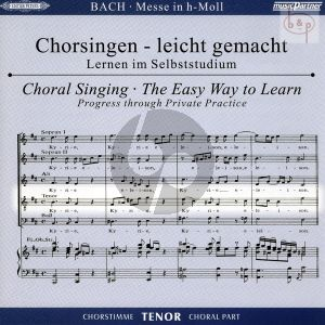 Messe h-moll (Hohe Messe) BWV 232 Tenor Chorstimme