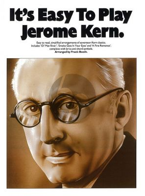 It's Easy to Play Jerome Kern Piano-Vocal-Guitar