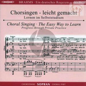 Ein Deutsches Requiem Op.45 Sopran Chorstimme
