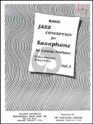 Basic Jazz Conception Vol.2