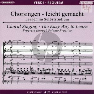 Requiem (Alt Chorstimme) (2 CD's)
