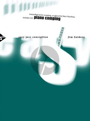 Snidero Easy Jazz Conception Piano Comping (Bk-Cd)