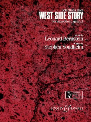 West Side Story Selections for Saxophone Quartet and Optional Percussion) (Boatman) (Score/Parts)
