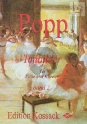 Tonbilder Vol.2 (In leichter Spielart) Flöte-Klavier (Widdermann) (Grade 3)