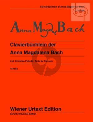 Clavierbuchlein A.M.Bach Klavier (Wiener-Urtext)