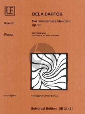 Bartok Der Wunderbare Mandarin Op.19 Piano solo (ed. Peter Bartok)