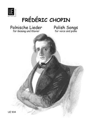 Chopin Polnische Lieder (Mittel) (deutsch-engl.)