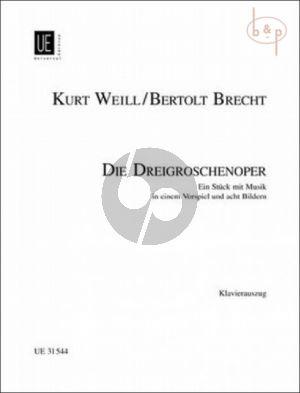Weill Dreigroschenoper (Brecht) Klavierauszug (Harsch)