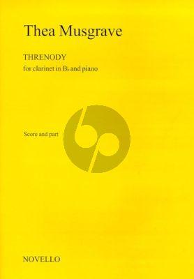 Musgrave Threnody Clarinet-Piano