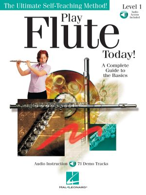 Play Flute Today level 1 (Ultimate Self-Teaching Method) (Book with Audio online)