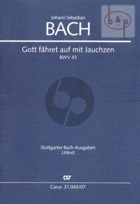 Kantate BWV 43 Gott fahret auf mit Jauchzen