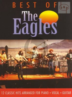 Best of the Eagles Piano-Vocal-Guitar