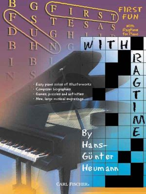 Heumann First Fun with Ragtime for Piano