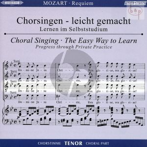 Requiem d-moll KV 626 Tenor Chorstimme CD