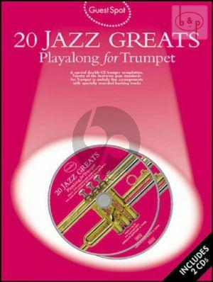 Guest Spot 20 Jazz Greats Playalong (Trumpet)