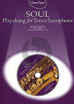 Guest Spot Soul Playalong Tenor Saxophone (Bk-Cd)