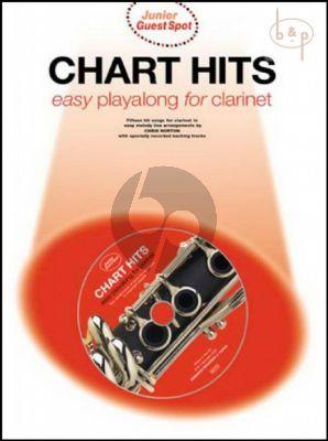 Junior Guest Spot Chart Hits Playalong (Clarinet)