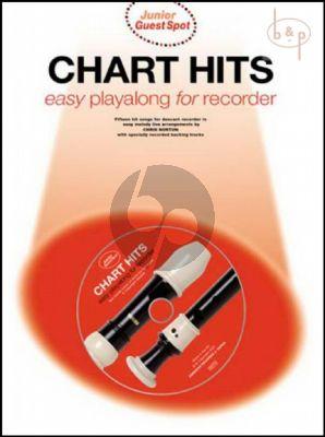 Junior Guest Spot Chart Hits Playalong (Recorder)