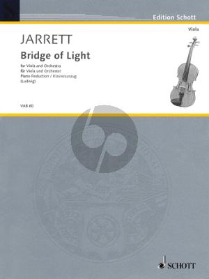 Jarrett Bridge of Light (1990) Viola-Orchestra Piano Reduction by Claus D. Ludwig
