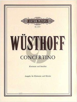 Wusthoff Concertino Klarinette-Streicher (KA.)